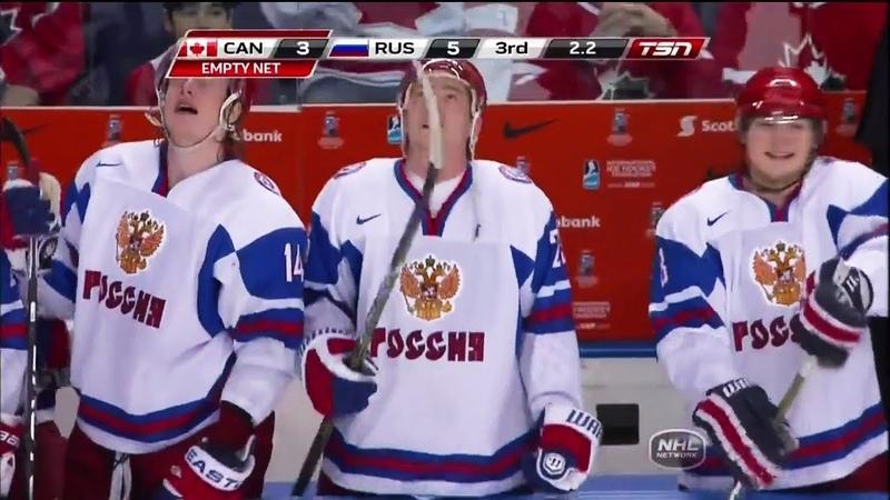 МЧМ 2011 U20 Россия Канада Финал 5 3 UWC hockey 2011 Final Russia Canada