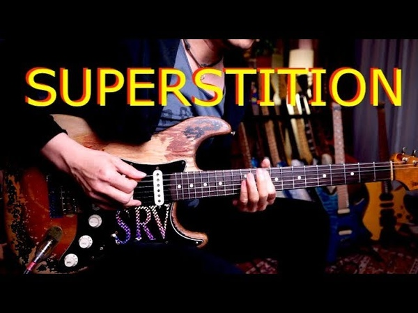Stevie Wonder Stevie Ray Vaughan Superstition guitar cover by Vinai T