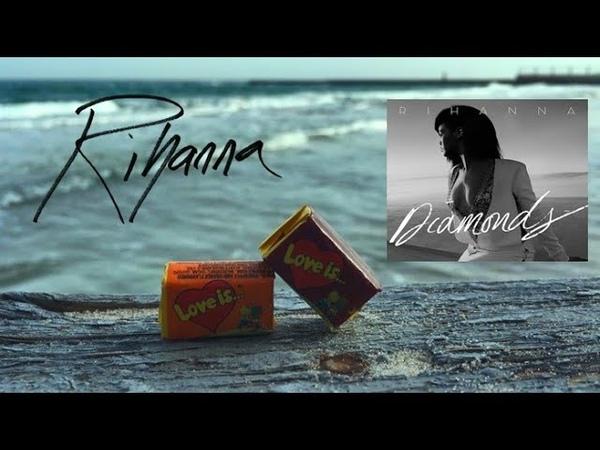 Rihanna Diamonds slow ver only music sea waves