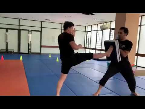 Iko Uwais on Another day at @uwais team training camp Put in work