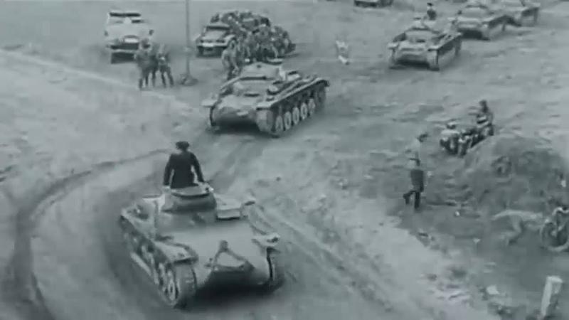 Как началась Вторая Мировая союзники Гитлер и Сталин делят мир