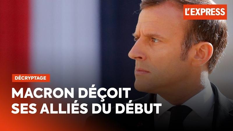 Macron déçoit ceux qui l'ont aidé à gagner l'élection présidentielle de 2017