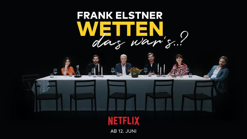 Frank Elstner Wetten das war's ab 12 6 nur auf Netflix