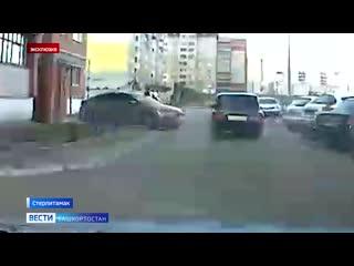 Вести публикуют кадры погони за школьником из Башкирии, управлявшим семёркой без прав