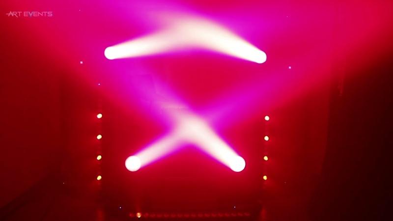 Аренда прокат света звука сцены Световое шоу для мероприятий Art Events Кранодар arteventskrd