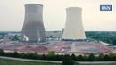В Германии эффектно взорвали башни закрытой АЭС.