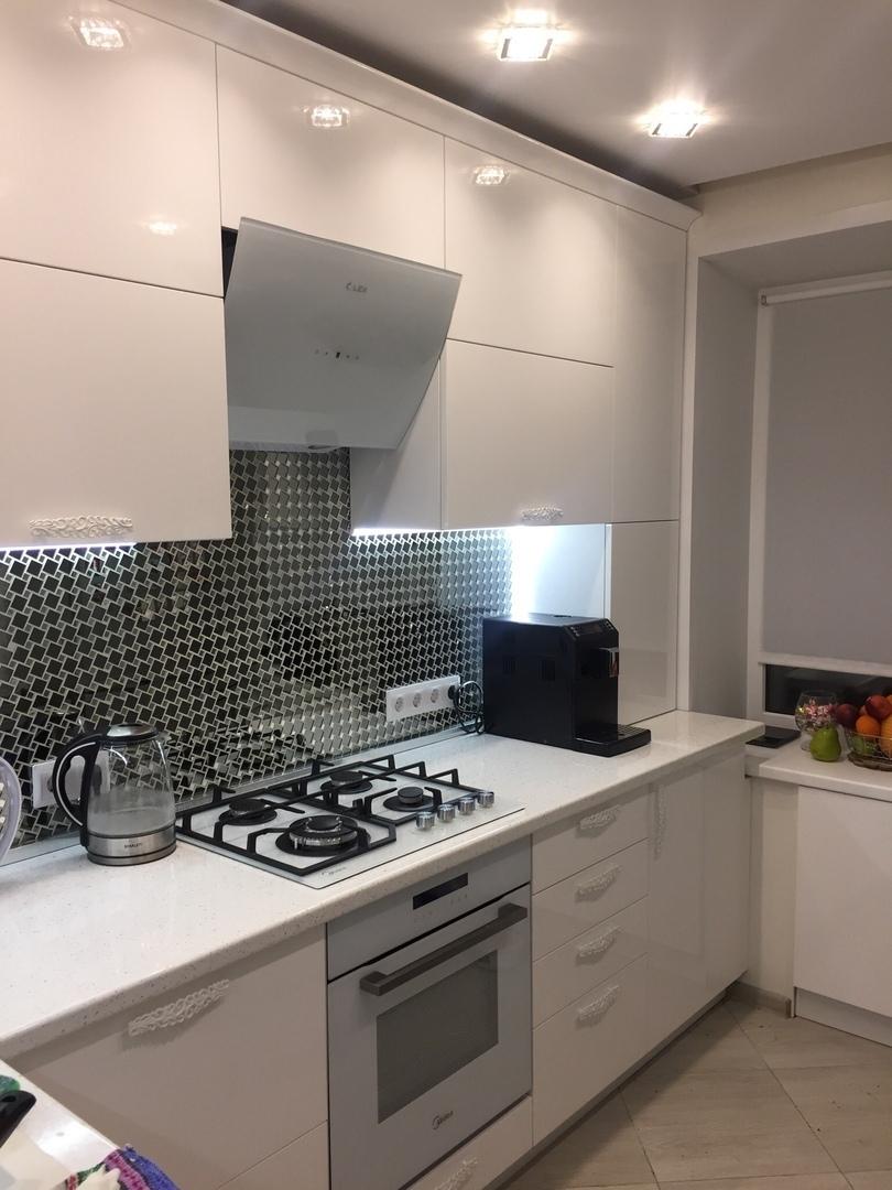Наша новая кухня - как было и как стало