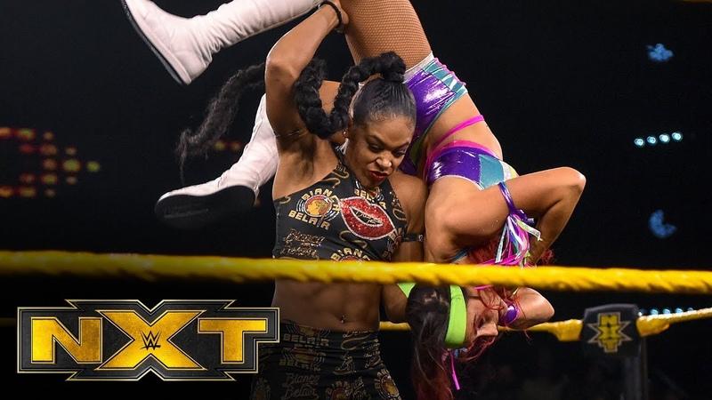 Santana Garrett vs Bianca Belair WWE NXT Feb 12 2020