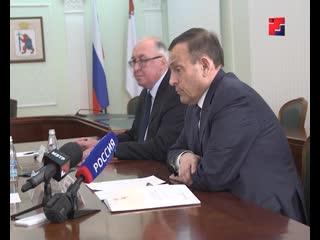 Александр Евстифеев провел рабочую встречу с генеральным директором ООО Потенциал
