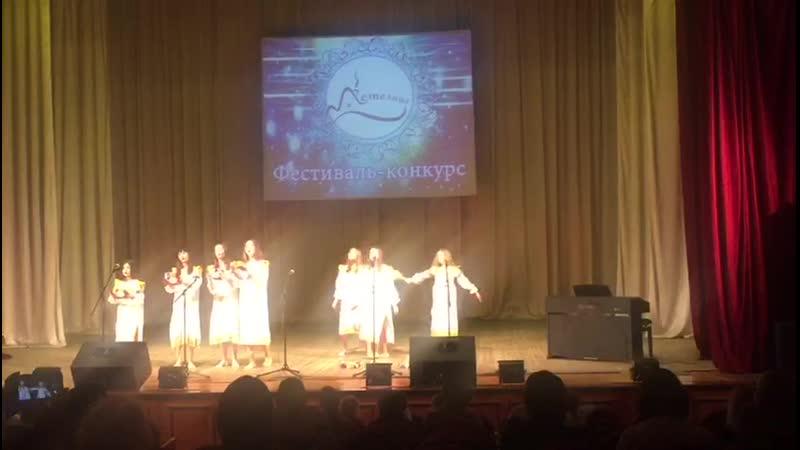 Пойдем-тя девки - театр песни «Позитив», вокальный ансамбль10-13лет