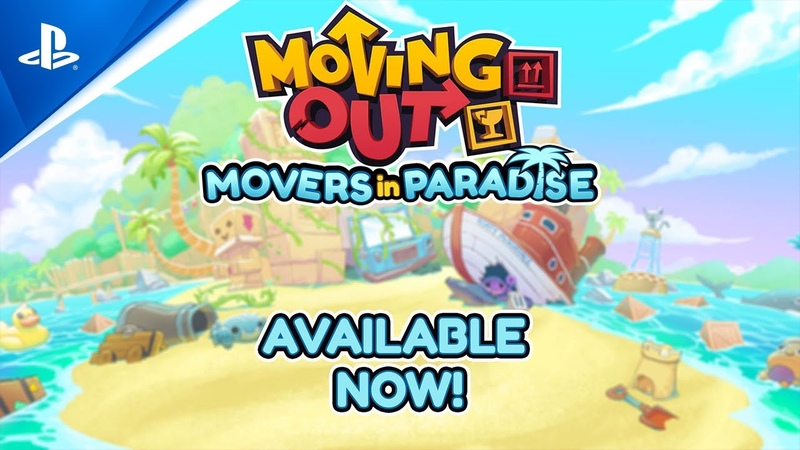 Moving Out Movers in Paradise Launch Trailer PS4