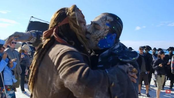 Джонни Депп и самый лучший поцелуй