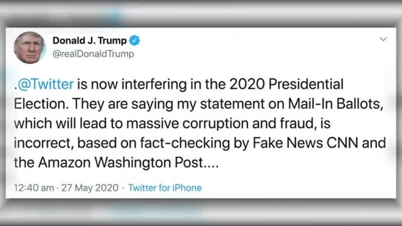 FAKENEWS_VERDACHT_ Trump_Tweets bekommen bei Twitter erstmals Faktencheck
