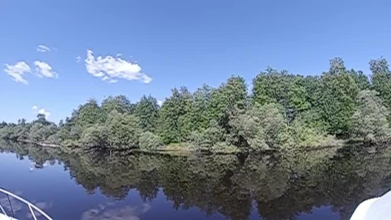 Прогулка по реке Тромеган Сургутский район ХМАО Югра