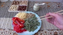 Зеленая домашняя лапша 🌿 🍜 сидимдома . Вкусное блюдо с крапивой. StayHome and cook WithMe