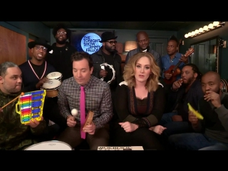 Jimmy Fallon, Adele  The Roots Sing - Hello