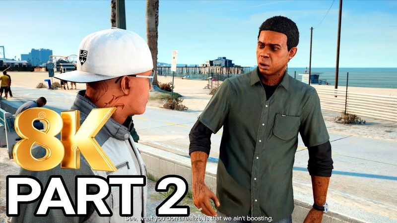 GTA 5 Gameplay Walkthrough Part 2 - Grand Theft Auto 5 Franklin and Lamar (PC 8K 60FPS)