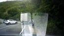 Момент лобовой аварии на федеральной автотрассе в Сочи попал на камеру видеорегистратора