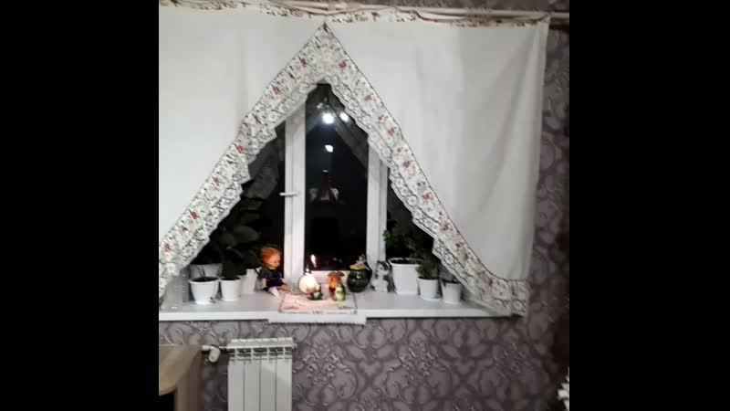 Старинные занавески на кухню