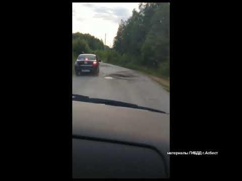 Инспекторы ГИБДД Асбеста преследовали нетрезвого водителя