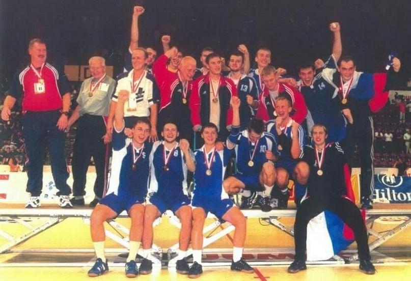 Сборная России — чемпион мира 2001 года среди молодежных команд