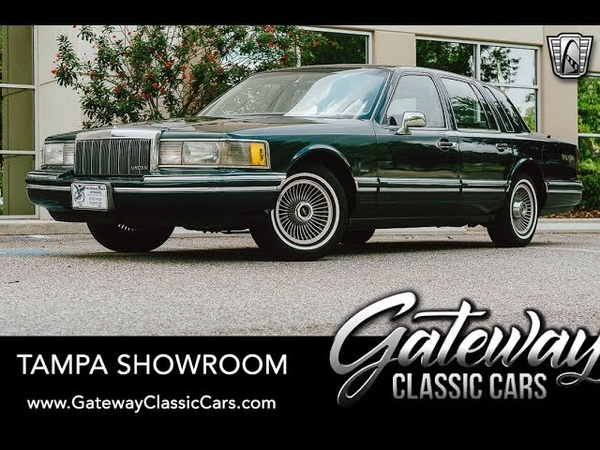 1992 Lincoln Town Car, Gateway Classic Cars - Tampa 1755