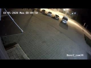Мишка напал на прохожего в Ярославле