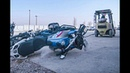 BMW GS boxer engine torture - Crash bars to the rescue