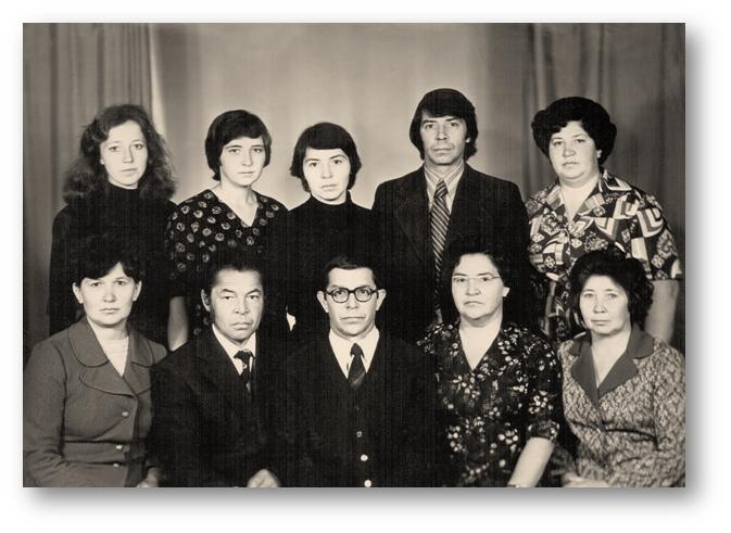 Фото сделано в 1980 году