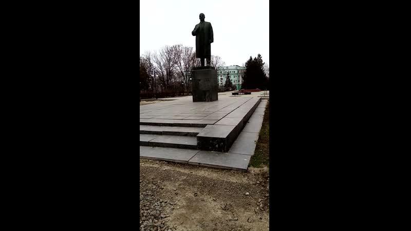 Администрация Таганрога хунта бездарей сделала ремонт на октябрской площади