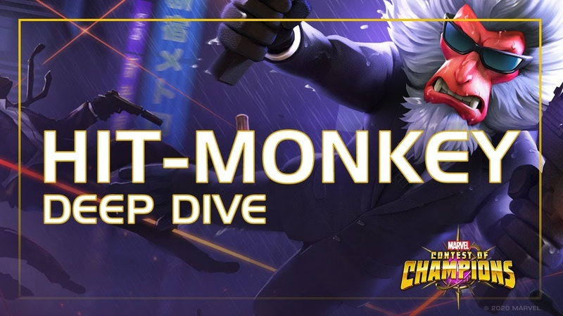Hit-Monkey Deep Dive Critical Macaque Massacre | Marvel Contest of Champions