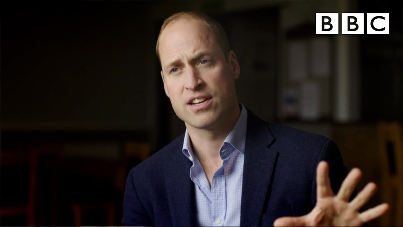 Prince William's breaks down a new way to tackle male depression BBC