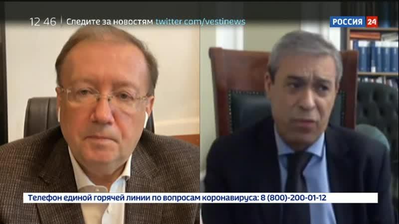 Глобальный разговор. Ректор А.В.Яковенко и Посол Абдель Хафиз Нофаль