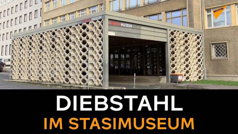 Schmuck und Orden aus Berliner Stasi Museum geklaut