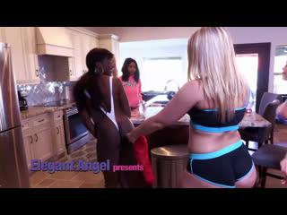 ElegantAngel - Alexis Texas Lesbian House Party (Alexis Texas, Ana Foxxx, Zoey Monroe, Jenna Foxx, Kleio Valentien, Dava Foxx