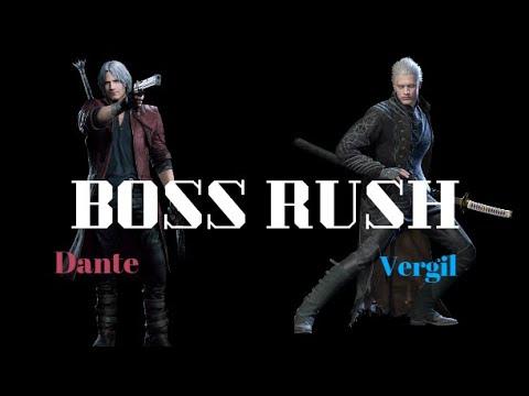 Devil May Cry 5 - Dante Vergil BOSS RUSH -