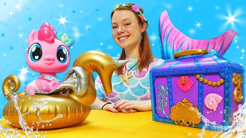 Spielspaß mit My Little Pony - Die Schatztruhe der Meerjungfrau - Spielzeug Video auf Deutsch