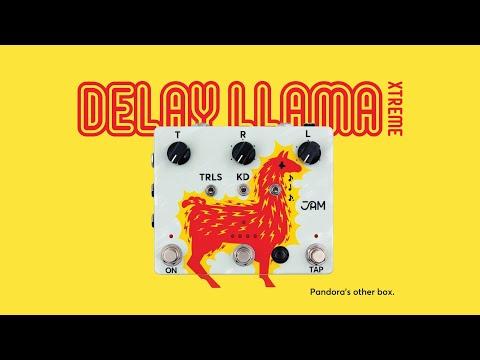 JAM pedals Delay Llama XTREME