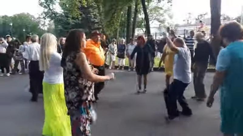Ой смереко Народные танцы сад Шевченко Харьков