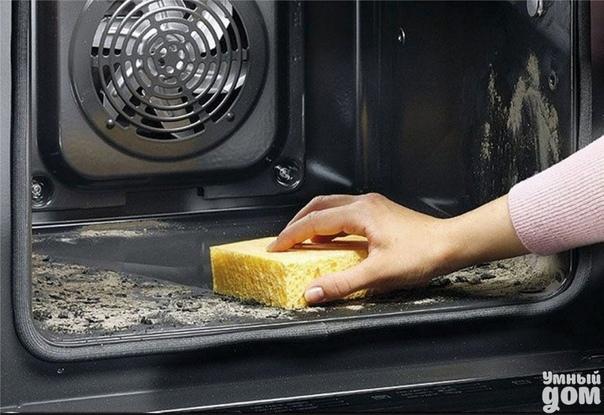 Полезные советы - Как почистить духовку без химии