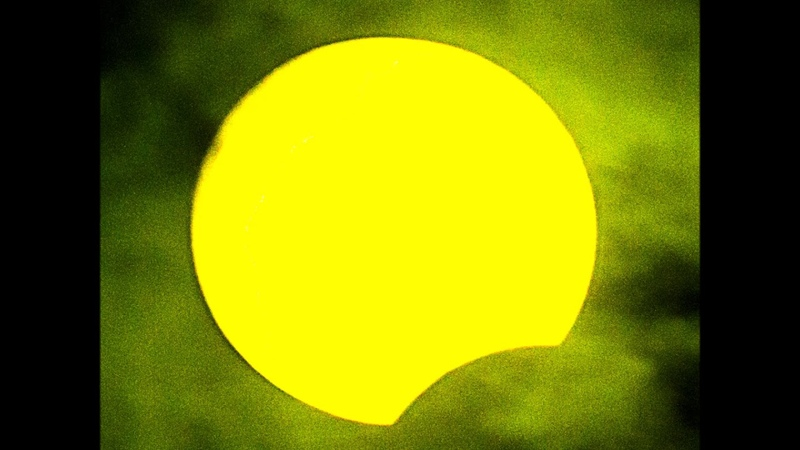 Частное солнечное затмение 21 июня 2020 года