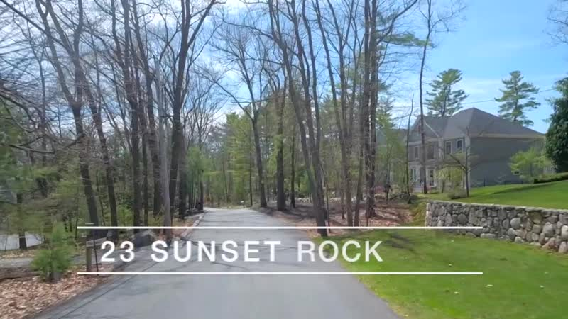 Video of 23 Sunset Rock Road _ Andover, Massachusetts real estate homes by Peg