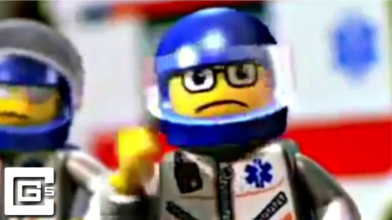 A Man Has Fallen Into The River in LEGO City song