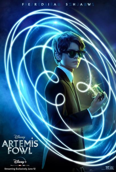 Персонажные постеры «Артемиса Фаула» Фильм, уже разгромленный критиками, выйдет завтра на Disney,.