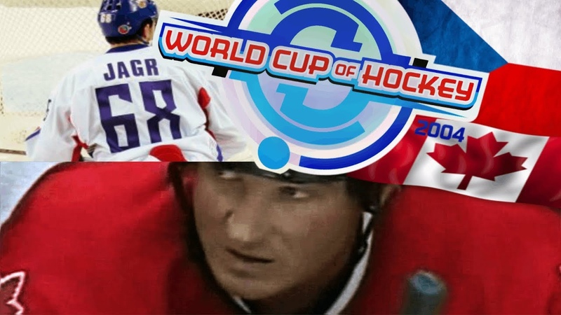 Lemieux vs Jagr Best Czech Canada Battle