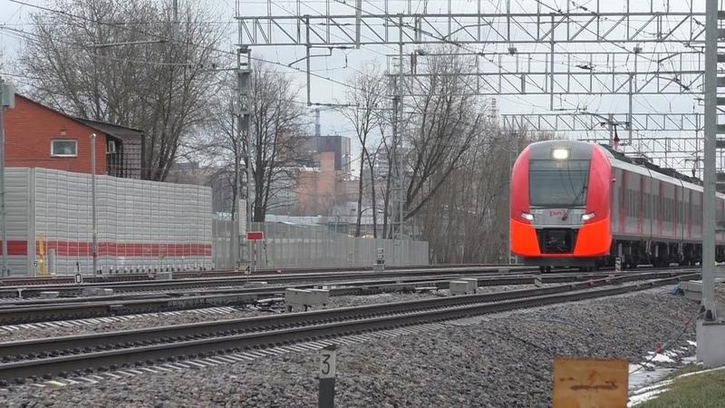 Электропоезд ЭС2Г 106 Ласточка на МЦК