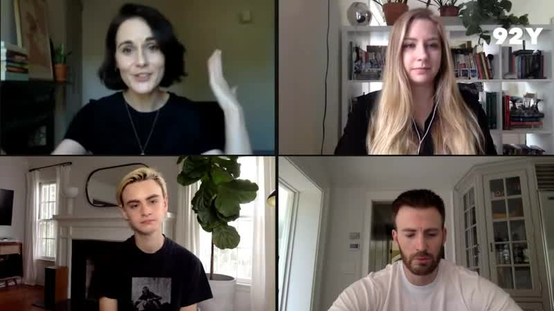 2020 Интервью каста Защищая Джейкоба для порталов Entertainment Weekly и 92Y