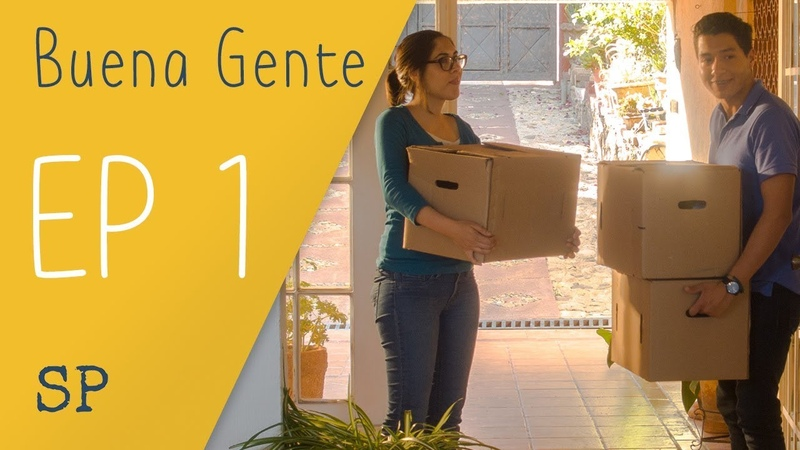 Learn Spanish Video Series Buena Gente S1 E1