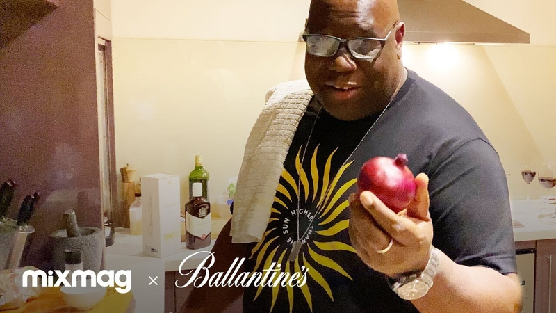 Carl Cox Oh Yes, Oh Chef | Mixmag X Ballantines