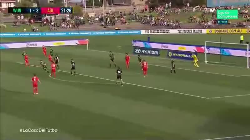 Чемпионат Австралии 2019 20 16 й тур Вестерн Юнайтед Аделаида Юнайтед 1 тайм
